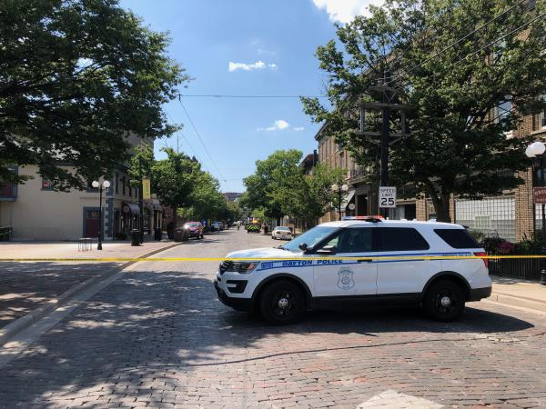 Fifth Street in downtown Dayton will open to traffic after the 8pm vigil.