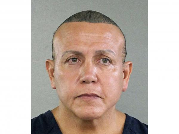 Cesar Sayoc was sentenced to 20 years in prison for mailing 16 inoperative pipe bombs to public figures seen as critical of President Trump in 2018.