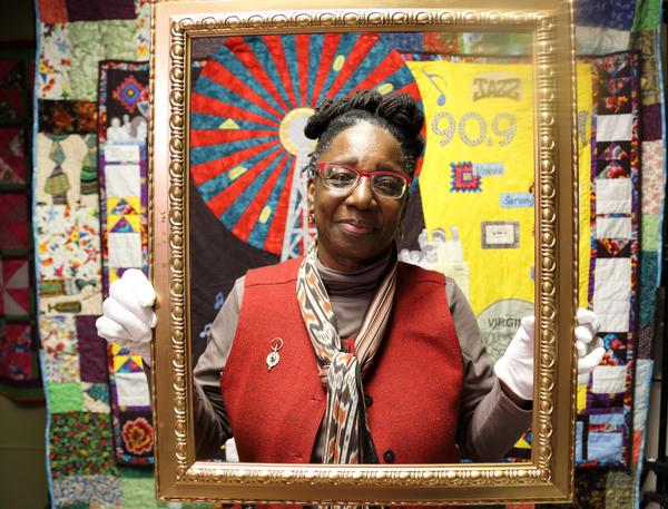 Jereann King Johnson and the Heritage Quilters shared the family photographs and stories that inspire their quilts.