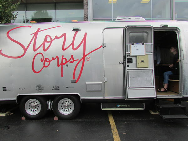 The StoryCorps mobile booth will be parked outside the Flint Institute of Art from August 6th through September 5th.