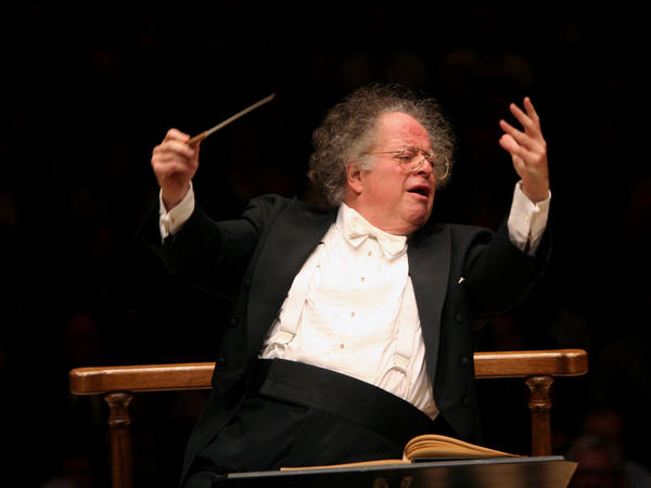 James Levine, conducting the Boston Symphony Orchestra at New York's Carnegie Hall in February 2010.