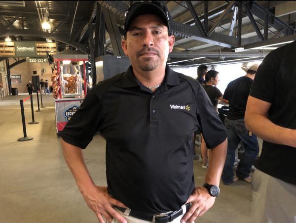 Robert Evans, manager of the Cielo Vista Walmart in El Paso