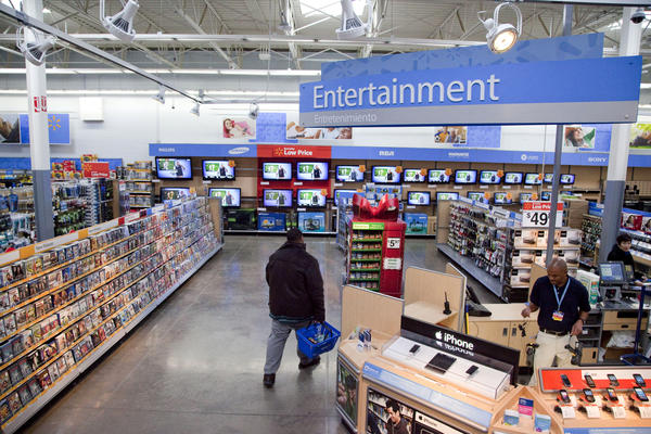 Walmart has instructed employees to remove marketing material that displays violent imagery and to unplug or turn off video game consoles that show violent games.