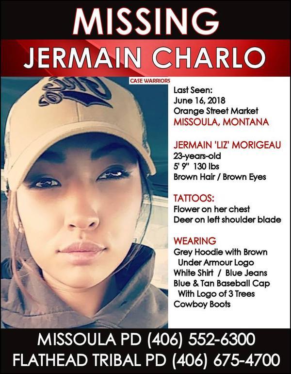 Missing Woman Jermain Austin Charlo