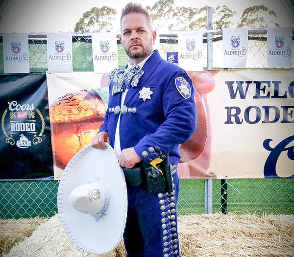 Officer Gabriel Carvey (Photo courtesy of the Salinas Police Department)
