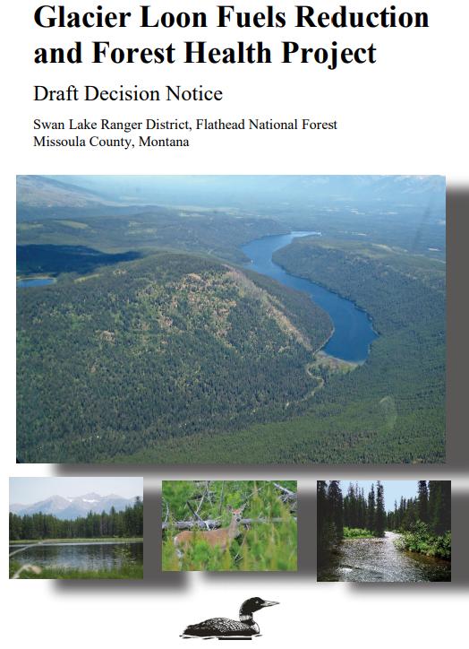 Glacier Loon Project Decision Notice April 2018