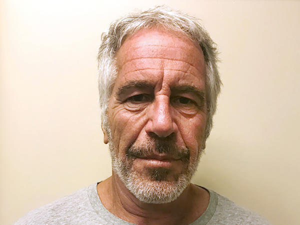 This March 28, 2017, photo, provided by the New York State Sex Offender Registry, shows Jeffrey Epstein. Epstein has died while awaiting trial on sex-trafficking charges.