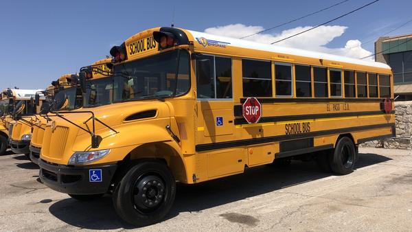 Nearly 60,000 public school students in El Paso, Texas, begin school on Monday.