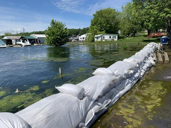 Fair Haven is among the many communities which have been struggling this year with high water levels along Lake Ontario.