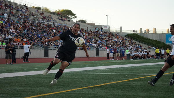 The El Paso soccer community held a friendly soccer match on August 11th to raise money for two youth coaches who are still hospitalized following the Walmart Mass Shooting on August 3rd.