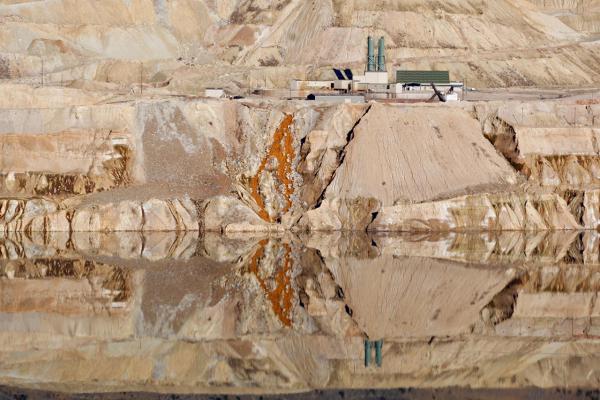 The Berkeley Pit in Butte