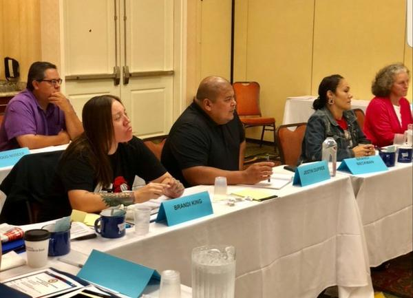 Members of Montana's Missing Indigenous PErsons Task Force met for their second meeting in Great Falls August 10.