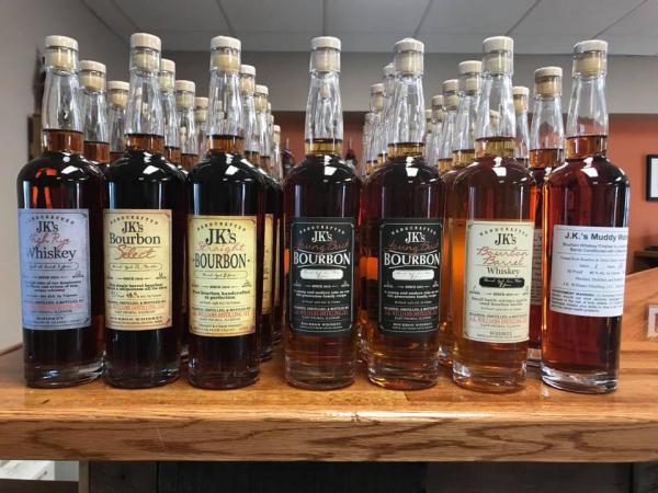 J.K. Williams whiskeys