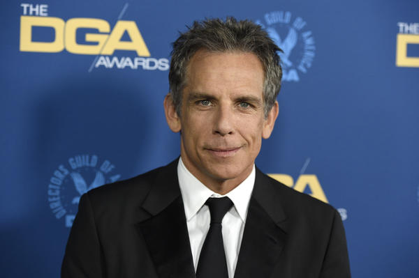 Ben Stiller arrives at the 71st annual DGA Awards at the Ray Dolby Ballroom on Saturday, Feb. 2, 2019, in Los Angeles. (Chris Pizzello/Invision/AP)