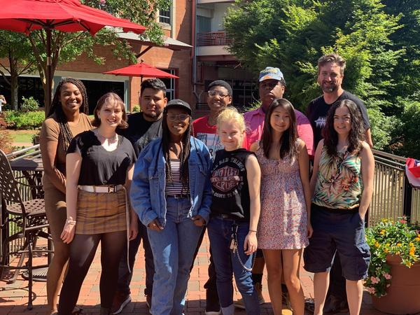 The 2019 WUNC Youth Reporting Institute.
