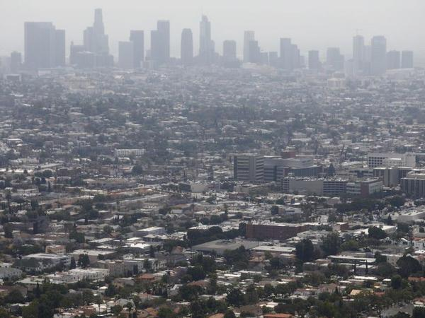 Smog is common not only in Los Angeles but also in cities across the country. New research finds that long-term exposure to high levels of air pollution may be as harmful to the lungs as smoking.