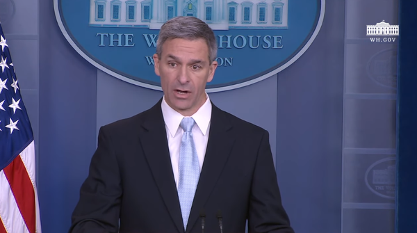 Ken Cuccinelli, Acting Director of US Citizenship and Immigration Services, announces new rule changes for immigrants seeking legal status.