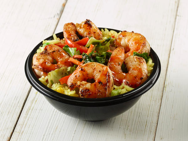 Calypso Island Shrimp Bowl