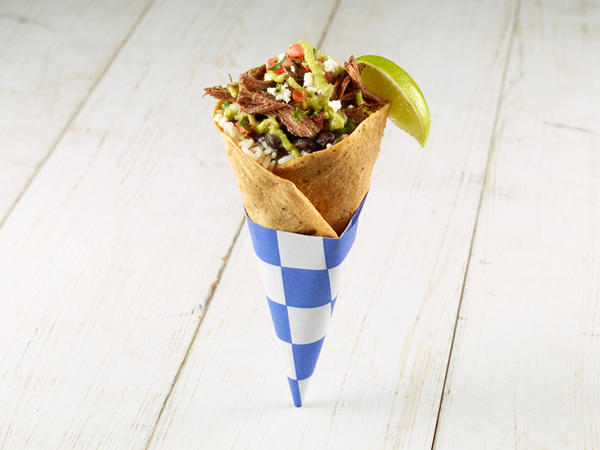 Ruth's Stuffed Fried Mexi-Cone