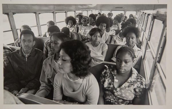 Black students are bused to majority-white schools in 1971, after Austin ISD begins mandatory one-way busing to meet federal desegregation rules.