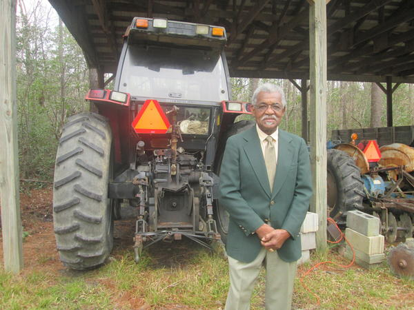 Brunswick County farmer Lewis Dozier contibuted an oral history to the project.