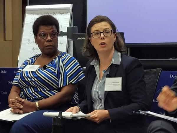 North Carolina chief resiliency officer Jessica Whitehead says we need to think about where and how we rebuild after storms.