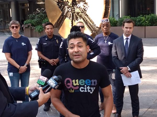Charlotte Pride board president Daniel Valdez says this year's festival will celebrate diversity, on the 50th anniversary of the Stonewall riots.