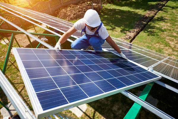 A lot of cities plan to reduce carbon emissions by investing in renewable energy.