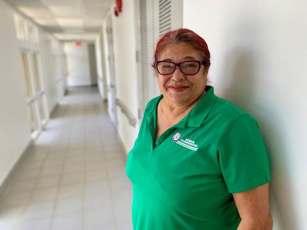 Carmen Chevere says living through Hurricane Maria has left her anxious and fearful.