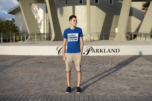 David Hogg, now a Marjory Stoneman Douglas High School graduate, has become one of the most prominent figures in the March for Our Lives gun violence prevention movement.