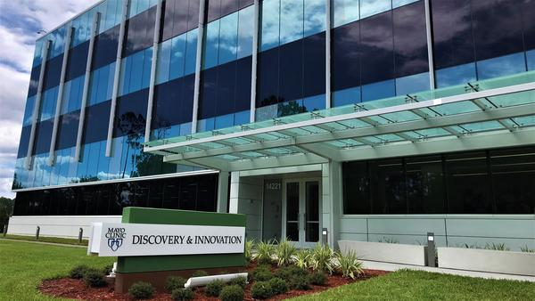 Mayo Clinic's Discovery and Innovation Building in Jacksonville, Florida.