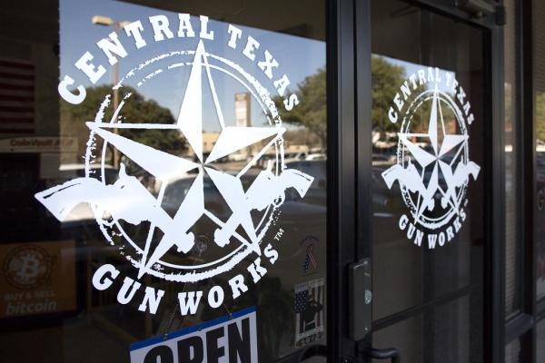 A man who was arrested with several weapons in Pease Park last week bought a rifle from Central Texas Gun Works.