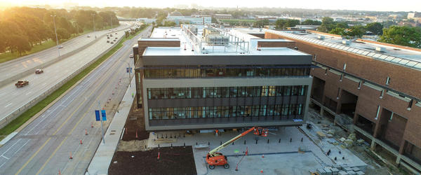 The Forest Park campus of St. Louis Community College unveiled its new Center for Nursing and Health Sciences on Friday, the first new building on the campus in 20 years.