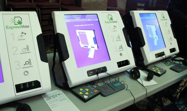 The Montana SOS Office is holding a certification event for the ExpressVote voting system Tue, Aug 28, in Helena. The device is designed to help people with disabilities vote, but local election officials will urge everyone to use them in coming elections