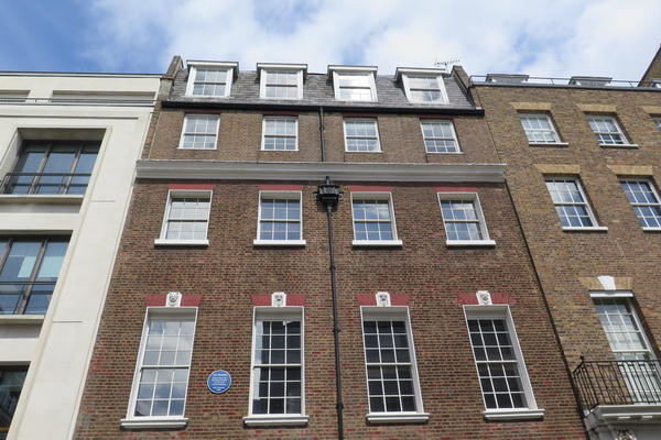 The Beatles played its last live performance of the roof of this building at 3 Savile Row on Jan. 30, 1969.