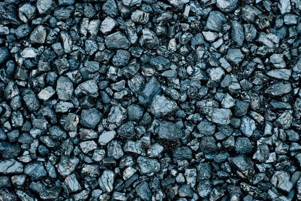 A pile of coal, 2012.