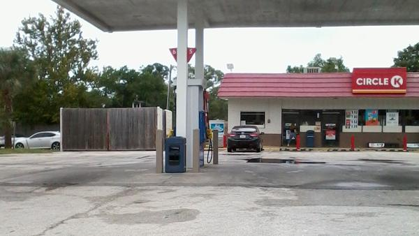 This Jacksonville Beach gas station didn't have any fuel available when this photo was shot on Friday.
