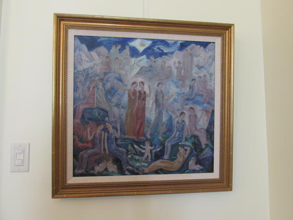 Mountains of the Blue Moon by Dulah Evans Krehbiel, 1924