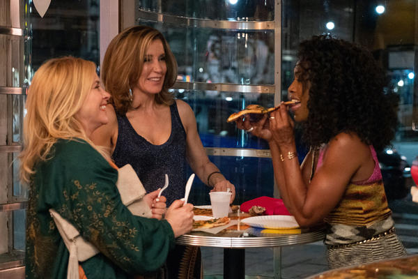 Patricia Arquette (left), Felicity Huffman and Angela Bassett star in <em>Otherhood </em>as three best friend moms who decide to take matters into their own hands when their adult children don't give them the love they expected on Mother's Day.