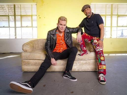 Sugar Ray's Mark McGrath, left, and Rodney Sheppard just released their new album, <em>Little Yachty.</em>