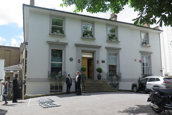 Abbey Road Studios.