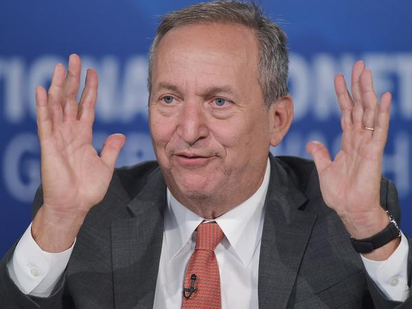 "Former Treasury Secretary Larry Summers, shown in 2014, says we're witnessing a period of ""secular stagnation."""
