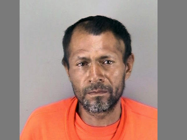 A San Francisco Police Department booking photo shows Jose Ines Garcia-Zarate, a homeless undocumented immigrant who was acquitted of killing Kate Steinle on a San Francisco pier in 2015.