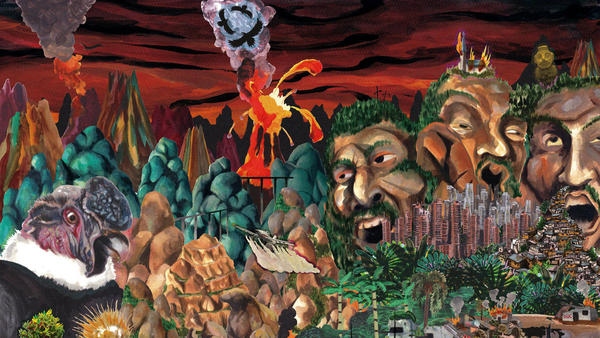 Yes, the apocalyptic cover of <em>Historia Natural</em> does accurately portray the warped whims of Los Pirañas' cumbia.