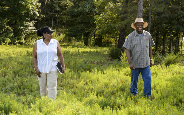 Monica White studies community food systems as potential solutions to food inaccessibility.