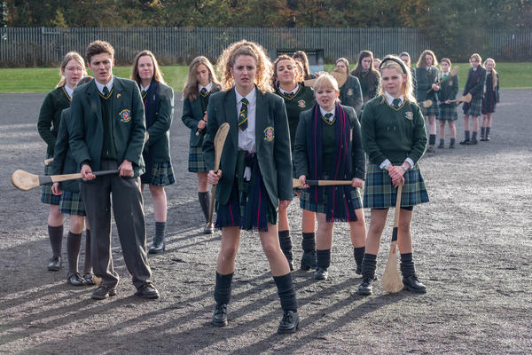 "<em>Derry Girls </em>follows five teenagers in a Catholic school in Northern Ireland during the 1990s.<em> </em>""This show, it's very Derry, in all the right ways,"" says <em>Derry Girls</em> fan Gilly Campbell. ""It's put Northern Ireland on the map for all the right reasons."""