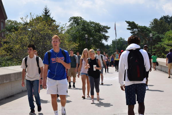 ISU enrolled 3,860 freshmen this fall, bringing total enrollment to 20,878 students. That's up 1.2% over last year.
