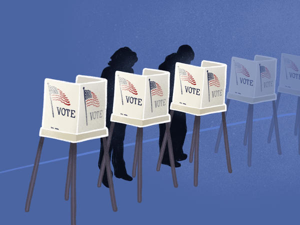 St. Louis County is moving back to a mostly paper ballot system for voting.