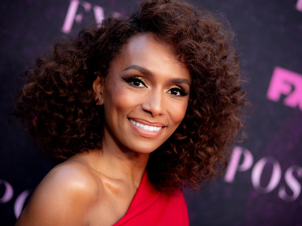 Janet Mock attends a red-carpet event for <em>Pose </em>earlier this month. Mock is a writer, director and producer of the TV show about ball culture in 1980s New York City.