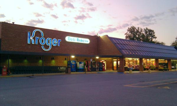 A Krogers grocery store in Lynchburg, Virginia.